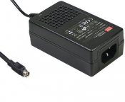 AC adapter 28V Mean Well 0.89A, 4-Pin Type-A