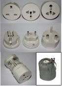 All-in-One UK, AUS EU Universal Travel Adapter