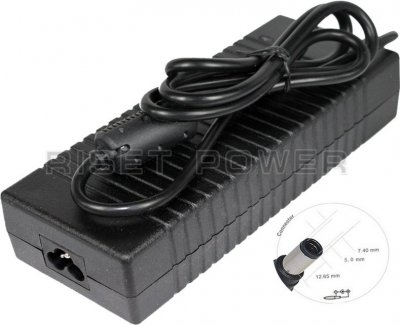 AC adapter 19,5V MBA50086 för HP 6.5A 7.4x5.0mm