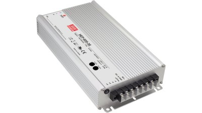Switchat nätaggregat 600 W, HEP-600-30, (25.5...31.5VDC) Mean Well
