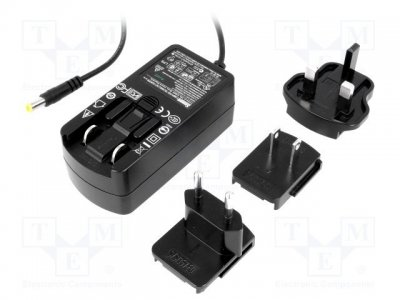 AC adapter SYS1357-1505  5V 3A 5,5x2,1mm