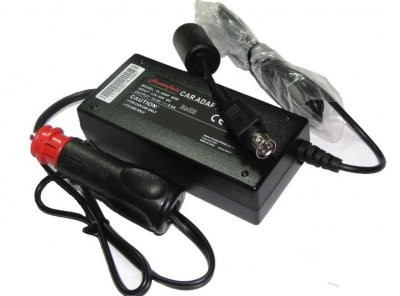 Biladapter 12/24 Volt till DmTech TV, 12V 5A 4-pin Type-E