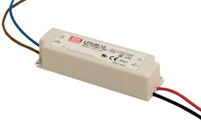 LED-drivdon 5VDC 8A, Mean Well LPV-60-5