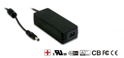 AC adapter 9V Mean Well 4.45A 5.5x2.1mm, C8