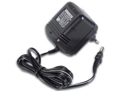 AC adapter, R3W024-100G, 24V 0.1A, stab. 5,5x2,1mm, -Cen