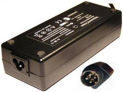 AC adapter till DMTech TV, 24V 5A 4-pin Type-C