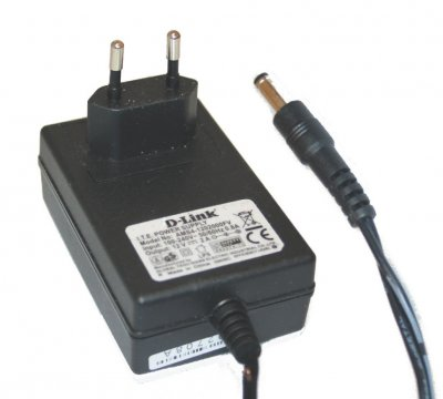 Original AC Adapter för D-LINK 12V 2A 3.5x1.35mm