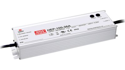 Switchat nätaggregat 100 W, HEP-100-15A, (13.5...17VDC) Mean Well