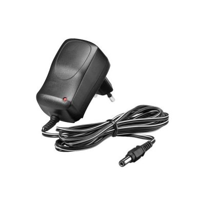 AC adapter 9V 0,6A 5,5x2,1 mm